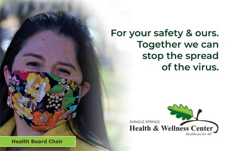 Wear a face mask.